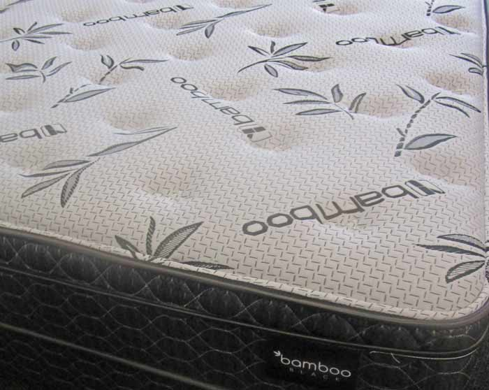 Symbol Pillow Top Simmons Beautysleep Bamboo Black
