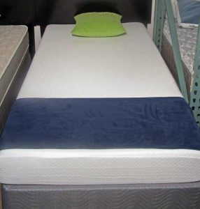 memory foam and inner coil twin size mattress on sale at Best Value Mattress Warehouse Indianapolis