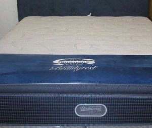 BeautyRest Sliver Plush Pillow Top Mattress factory clearance prices Indianapolis