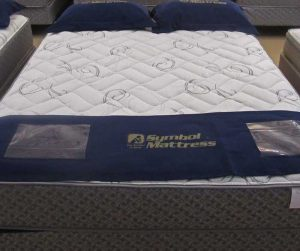 Symbol Saranac Firm Foam Encased Mattress on sale at Best Value Mattress Indianapolis
