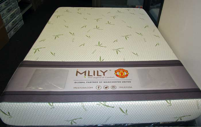 "Mlilly 10"" coolgel mattress"